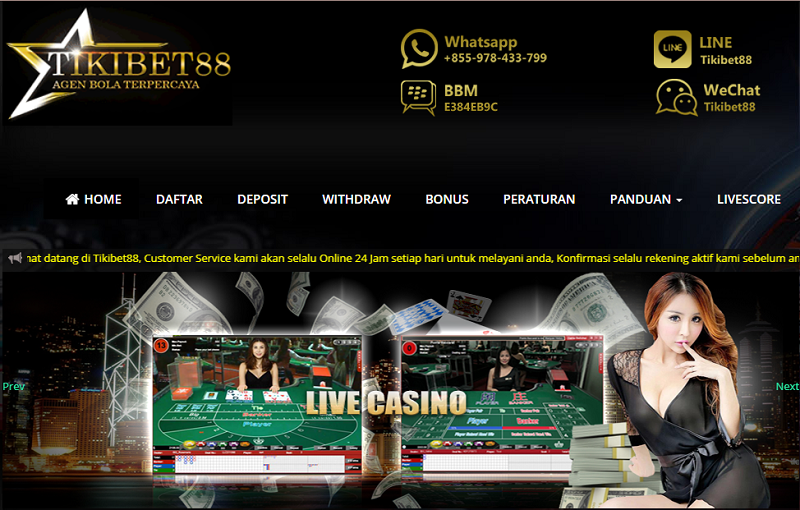 Details On Cashing Out In Online judi bola Casinos