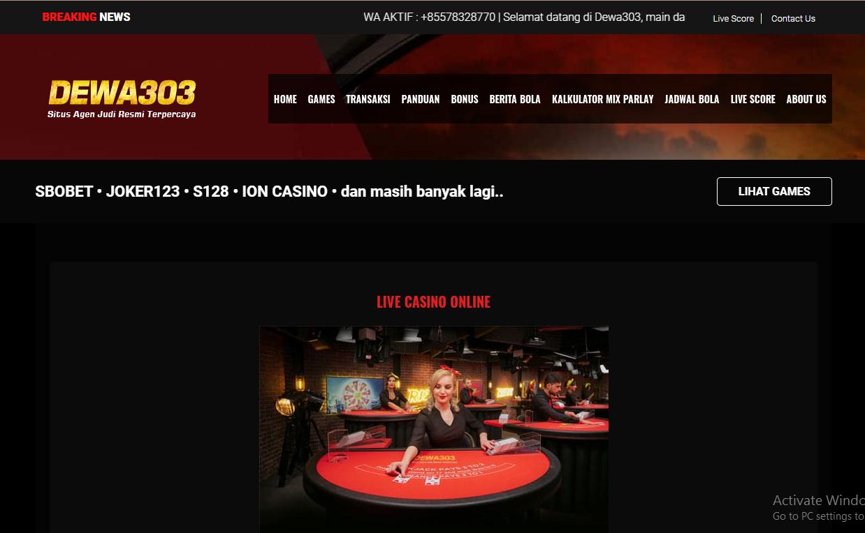 Online Craps Or live casino Craps