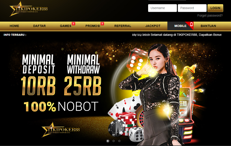 Best Online Casino poker idn playWebsites