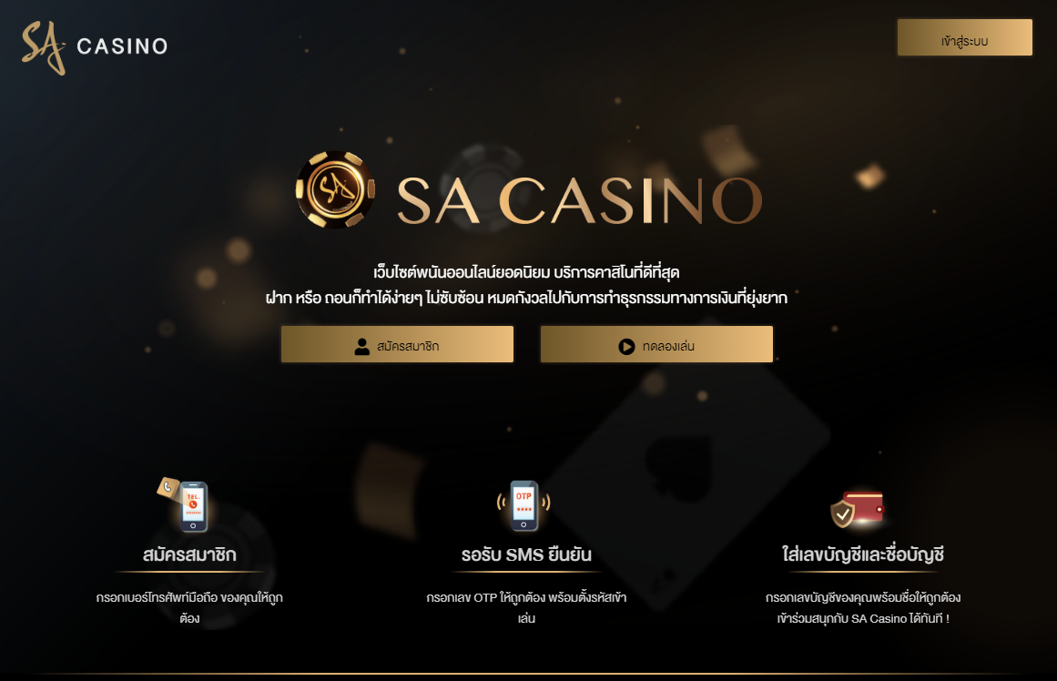 Extremely Well Playing At On-Line SA gaming Enterprises